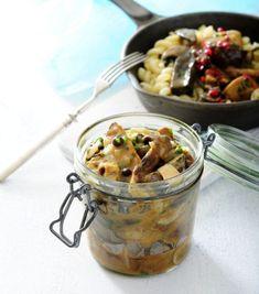 Przepis na sos grzybowy idealny do makaronu.