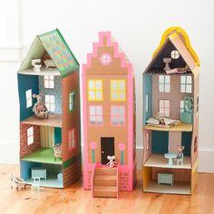 10 DIY Casas de muñecas