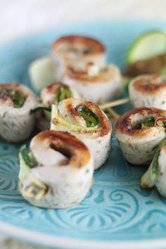 Weißwurst-Zucchini-Spieße mit süßem Senf - Mein wunderbares Chaos