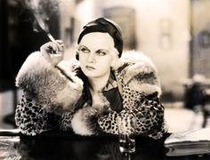 Stunning Jean Harlow in Iron Mani (1931)