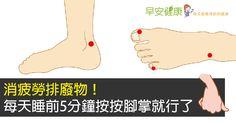 【早安健康/林芳羽編譯】腳部每天必須支撐全身,常會發生疲勞、抽筋的狀況。又因為距離心臟遙遠,一年四季都容易冰冷。尤其長時間穿著高跟鞋處在冷氣房的上班族,更應該適...