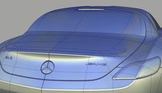 Mercedes-Benz 3D Alias Model