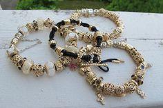 Oh....MY....God! Gorgeous!!! Gold Pandora bracelets