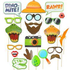 Dinosaur Photo Booth Props - Dinosaur Photobooth Props - ...