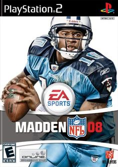 Madden NFL 08  PlayStation 2 >>> Click image to review more details.Note:It is affiliate link to Amazon.