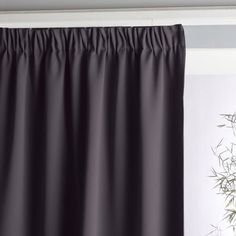 Blackout Curtain with Gathered Header
