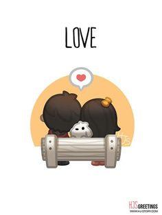 Love is - HJ Story                                                                                                                                                                                 Más