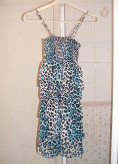 À vendre sur #vintedfrance ! http://www.vinted.fr/mode-femmes/robes-de-soirees-and-cocktails/25854105-robe-leopard-bleue-a-voiles