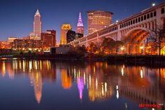 Cleveland, Ohio #Cleveland #Ohio #Skyline