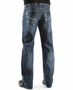 Cinch ® Reed Dark Denim Slim Fit Bootcut Jeans
