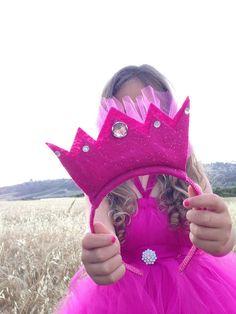 Ks PreParty Pics ~ DIY Felt Crown Headband