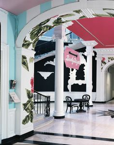 Eye For Design Hollywood Regency Dorothy Draper Style At The Greenbrier