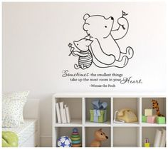 20 Darling Disney Wall Vinyl Quotes for the Nursery or Playroom | Disney Baby