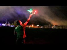 How to fly a drone through 10,000 Fireworks! - YouTube