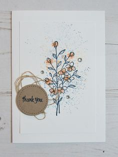 Touches of Texture by Stampin' Up! Tracy May #CCMC444