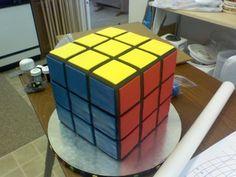 rubix cube cake - Google Search for sam