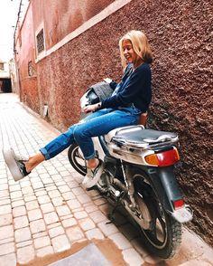"""17.3 mil Me gusta, 60 comentarios - ANDREA BELVER (@andreabelverf) en Instagram: """"Comin for a ride? ⛽️#livetheadventure @terranovastyle #TerranovaStyle"""""""