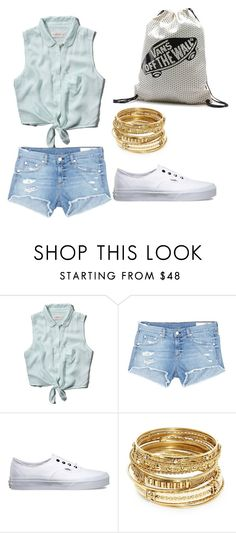 """""""Untitled #7"""" by edita-armen-g-ian ❤ liked on Polyvore featuring Abercrombie & Fitch, rag & bone/JEAN, Vans and ABS by Allen Schwartz"""