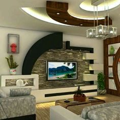 Super living room- Dhoma e dites super Super living room - – Home Decoration design House Ceiling Design, Ceiling Design Living Room, Tv Wall Design, Home Room Design, Modern Tv Room, Modern Tv Wall Units, Living Room Partition Design, Living Room Tv Unit Designs, Bedroom Furniture Design