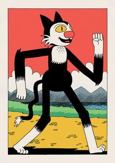 Beano and Dandy - Jack Teagle Illustration