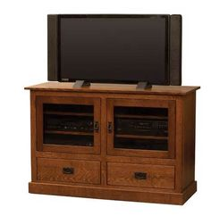 Hard Wood Tv Stand