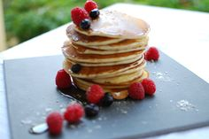 Check out this delicious recipe for Pancakes from Weber—the world's number one authority in grilling. Weber Q Recipes, Pancake Dessert, Weber Bbq, Dessert Recipes, Desserts, New Zealand, Pancakes, Vanilla, Vegetarian