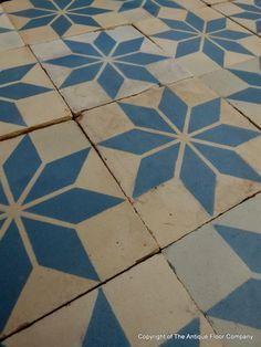 Jean-Marie Perrusson Antique Tiles- Cement tiles--ARCHARIUM tile  stone