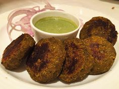 Culinary world - Learn how to prepare indian and western food : Subz Kebabs