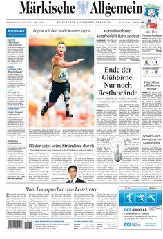 Donnerstag, 30. August 2012 » http://www.maerkischeallgemeine.de/