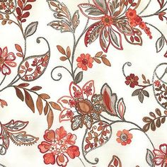 6.12AUD - Brianna - Paisley Grace - Cream By Grey Sky Studio, 100% Cotton Fabric #ebay #Home & Garden