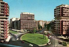 Avenida dos Estados Unidos da América cruzamento com a Av. de Roma (1964) - Archts. Filipe N. Figueiredo and José A. Segurado (1952).