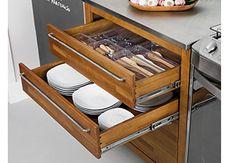 Como organizar gavetas na cozinha
