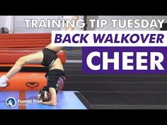 Open Shoulder Isolation Keeping the shoulders open is important for many tumbling skills. This drill helps isolate the shoulders to emphasize the value of ke. Back Walkover, All Star Cheer, Cheer Dance, Injury Prevention, Training Tips, Cheerleading, Martial Arts, Gymnastics, Athlete