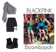 """""""BLACKPINK _Boombayah"""" by pantsulord on Polyvore featuring Zimmermann and Blondo"""