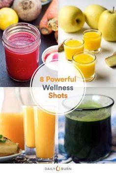 8 Health-Boosting Wellness Shots to Kick-Start Your Mornings - Welness Detox Juice Recipes, Juice Cleanse, Detox Drinks, Smoothie Recipes, Detox Juices, Cleanse Recipes, Body Cleanse, Health Cleanse, Juicer Recipes
