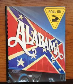 Alabama Blank notebook from a repurposed by outpostrecordshop