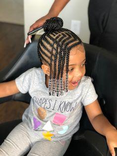 Black Baby Girl Hairstyles, Little Girls Natural Hairstyles, Toddler Braided Hairstyles, African Kids Hairstyles, Black Kids Braids Hairstyles, Little Girl Braid Styles, Kid Braid Styles, Little Girl Braids, Braids For Kids