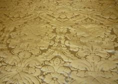 antique gold upholstery fabric - Google Search