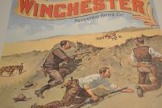 RARE Winchester Rifle Reproduction Calendars from 1967 Beautiful artwork! | Collectors Quest