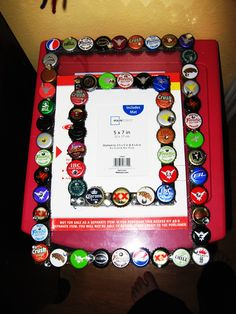 bottle cap frames