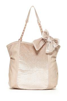 Retro Shades: Sunglass Event Betsey Johnson Bow Tote Bag