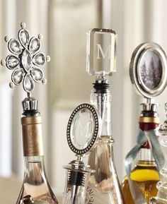 chic wine stoppers