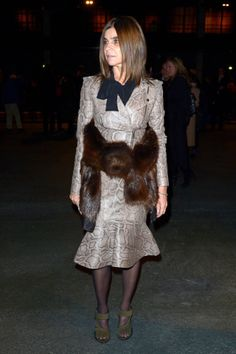 See who's sitting front row at Paris Fashion Week and more importantly, what they're wearing.