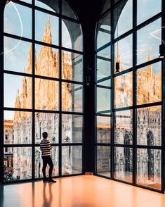 "5,271 Likes, 100 Comments - Francesco Innocenti (@framboisejam) on Instagram: ""The view from Museo del 900 is still my favorite in Milan. Especially at sunset when the Duomo's…"""