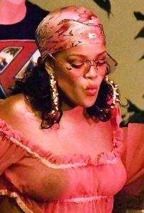 Rihanna showing her Nipple Piercing. – Hidden Delites