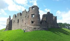 Brough Castle in the lake district (and a Marcus)