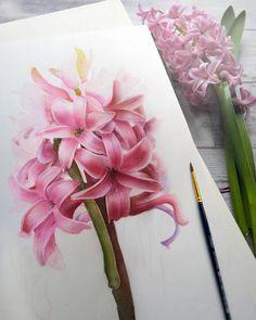 Watercolorist: @evgenyasheglova #waterblog #акварель #aquarelle #drawing #art #artist #artwork #painting #illustration #watercolor #aquarela