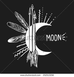Moon Stock Vectors & Vector Clip Art | Shutterstock
