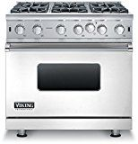 #ad #3: VGIC53616BSS 36 Professional 5 Series Gas Range with 6 Open Burners 5.1 cu. ft. Capacity VariSimmer Setting SureSpark Ignition and Gourmet-Glo Infrared Broiler in Stainless Steel  https://www.amazon.com/VGIC53616BSS-Professional-VariSimmer-SureSpark-Gourmet-Glo/dp/B077DV95V6/ref=pd_zg_rss_ts_la_3741431_3?ie=UTF8&tag=a-zhome-20
