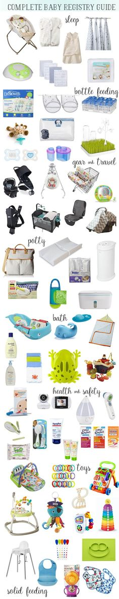 Baby Registry 101: The Complete Baby Registry Guide - Reviews and Recommendations from Perpetually Daydreaming
